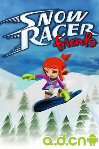 滑雪竞速 Snow Racer Friends Free