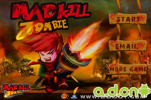 疯狂杀僵尸 Mad Kill Zombie