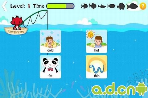儿童英语单词游戏_截图