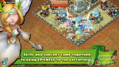 城堡衝突 Castle Clash v1.2.28-Android策略塔防類遊戲下載