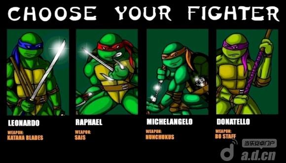 忍者神龟 Teenage Mutant Ninja Turtles