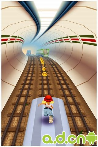 地铁跑酷 破解版_截图