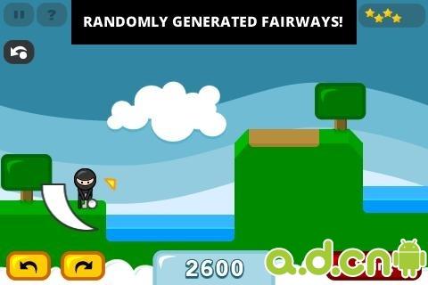 玩體育競技App|忍者高尔夫 9 Iron Ninja Free免費|APP試玩
