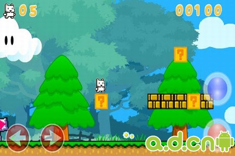 猫版超级玛丽 Super Cat Mario World
