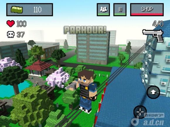 像素城市戰爭 Block City Wars v1.1-Android射击游戏類遊戲下載