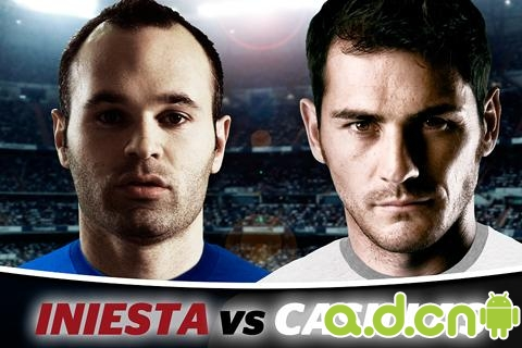 伊涅斯塔VS卡西利亚斯 Iniesta VS Casillas