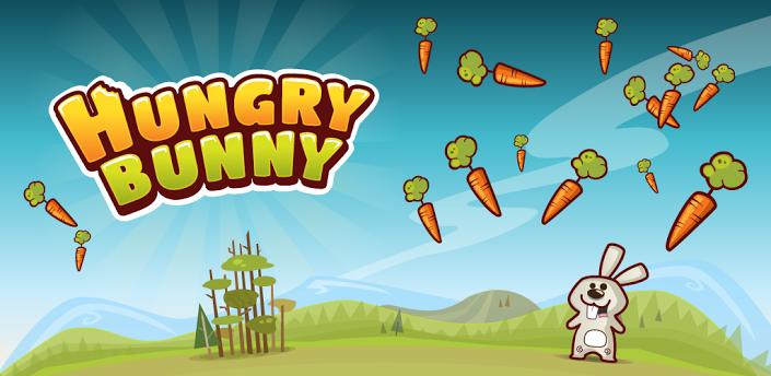 饥饿的兔子 hungry bunny》是一款休闲游戏
