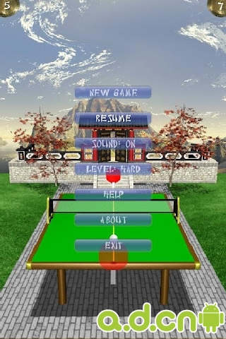 3D乒乓球 JPingPong Table Tennis