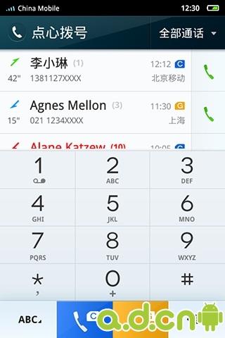 点心拨号 HTC双卡插件