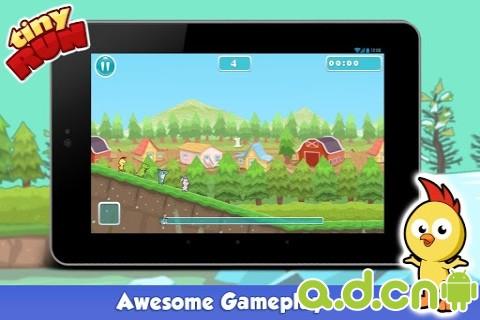 迷你賽跑 Tiny Run v2.5-Android益智休闲類遊戲下載